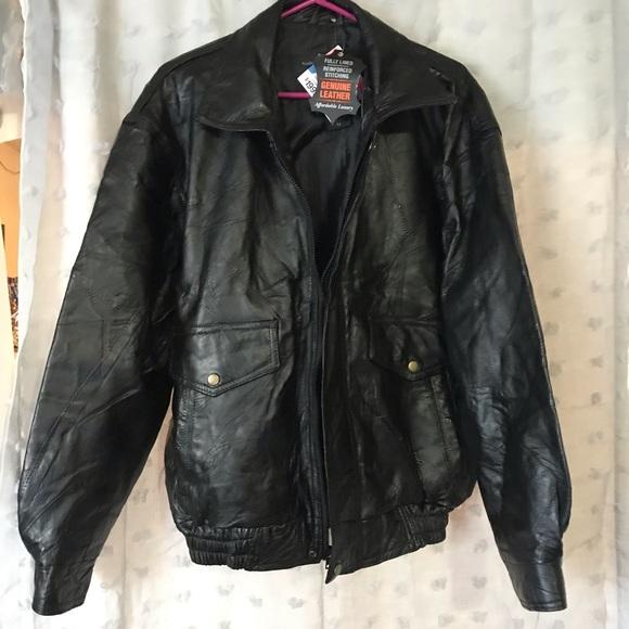 Jackets & Blazers - Genuine leather jacket NWT